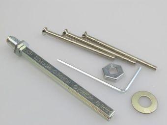 Rozšiřovací sada klika-koule pro štítek 2410 TT2 87-92mm