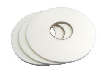 Zasklívací páska PE bez krycí fólie 9x3mmx20m bílá Extra