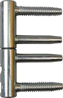 Pant 3D ocelový, D=14mm, bílý zinek, E01150.14.15