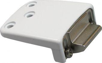 Seřiditelný protiplech 8526_58 pro PVC dveře, bílý RAL9016 (16-26mm)