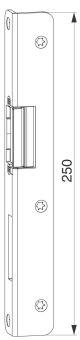 Hlavní protikus+AT díl,levý, spára 4mm, osa 9 mm