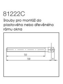 Prodlužovací šroub řetězu Sintesi 2000 pro PVC + dřevo