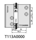 Vrtací šablona pro T4 76,5mm