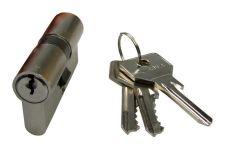 Vložka Cisa C2000 95/40+55, 3 klíče, nikl