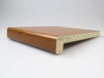 Vnitřní parapet dřevotřískový CPL 18/36 Zlatý dub 350mm