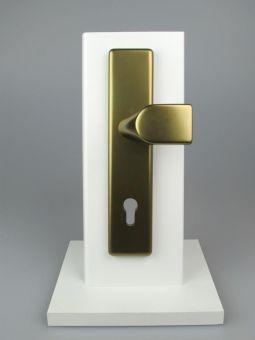 Dveřní kování London, klika-koule, 8/92 mm, 66-71 mm, bronz
