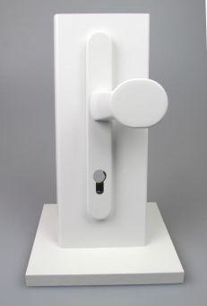 Klika+koule Basic 1955/2082/3132, bílá RAL9016, 8/92 mm