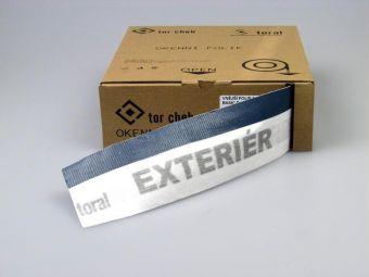 Vnější folie PP Toral Basic Box 70mm - paropropustná, bílá