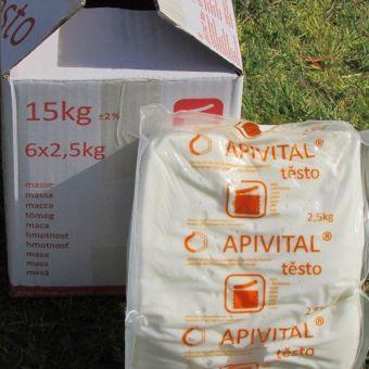 Krmné cukerné těsto  APIVITAL® pro včely
