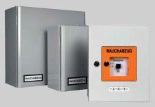 Centrální jednotka EMB 7300, 2,5 A, záložní zdroj, IP 30, šedá