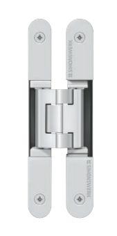 Dvoudílný skrytý závěs Tectus TE 240 3D 60kg, F1 stříbrný