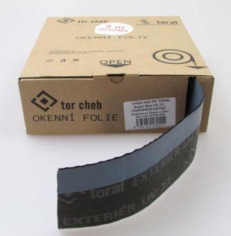 Vnější folie PP Toral Super Box UV 12, 70 mm - paropropustná, šedočerná