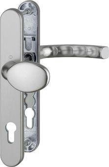 Kování s úzkým štítkem Liege 36, klika-koule, 8/92 mm 67-72, titan