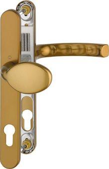 Kování s úzkým štítkem Liege 30, klika-koule, 8/92 mm 67-72, bronz