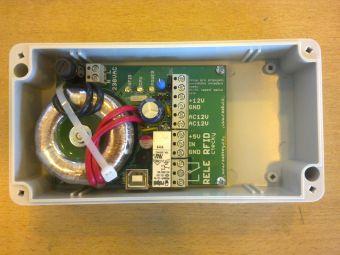 Napájecí zdroj s ovládáním zámku NP12RFID - USB