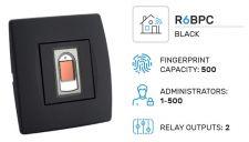 Biopass R6 sada WiFi, černá