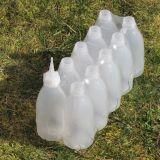 Láhev LDPE 250 ml Natur úzkohrdlá kulatá