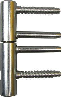 Pant Top ocelový, D=20mm, bílý zinek, E00150.20.15