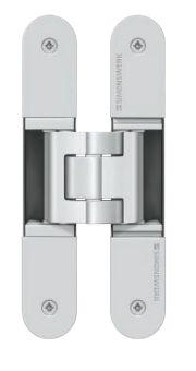 Dvoudílný skrytý závěs Tectus TE 340 3D 80kg, F1 stříbrný
