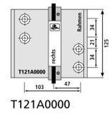 Vrtací šablona pro T4 103mm