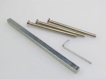 Rozšiřovací sada klika-klika pro štítek 3410 TT2 77-82mm
