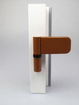 Dveřní závěs Siku 3D 3030, okrový (RAL8003) sw 084