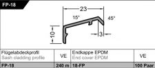 Křídlová okapnice FP18, EV1