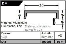 Krytka D 8 - 60bm, stříbrná