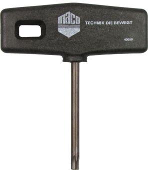 Montážní klíč pro úhelníkové nůžky TX20