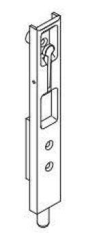 Dveřní zástrč pro PVC do kovací drážky osa 13 mm GU 6-28759-00-0-1