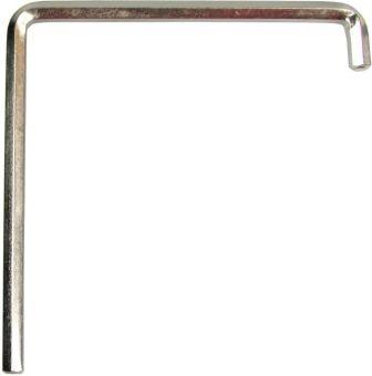 Seřizovací klíče Imbus 4mm 2x zahnutý, 75mm dlouhý SW4