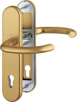 Dveřní kování Marseille, klika-klika, 8/92 mm, 66-72 mm, bronz