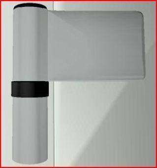 Dveřní pant KT-N 6R, 18-23mm, SM003 stříbrná metalíza