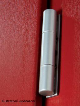 Dveřní pant Dynamic D3D průměr 20mm, 16mm kovací drážka, matný chrom