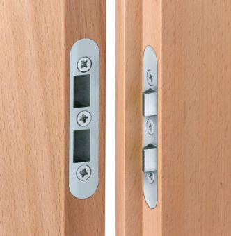 Zajištění pantové strany č.205 pro dřevo, spára 4mm