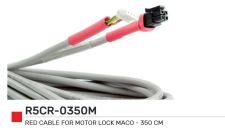 Červený kabel pro motor MACO 3,5 m