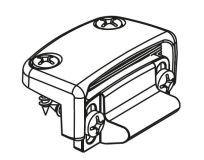 Seřiditelný protiplech Oltre 8527A_G5 pro PVC dveře (16-24mm) RAL9006