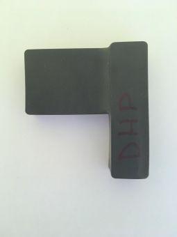 Gumová ochrana pantů Dr.Hahn (KT-V/N), pravá, černá
