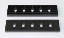 Podložka pod portál 160x40x10mm, černá
