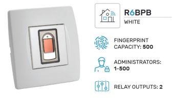 Biopass R6 sada WiFi, bílá