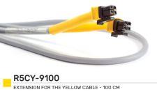 Žlutý kabel prodlužovací 5 m