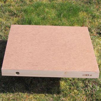 Víko úlu nezataplené (čtverec palubkový )