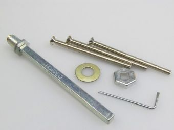 Rozšiřovací sada klika-koule pro štítek 3410 TT2 77-82mm