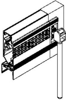 Doplněk - ovládání tyčí 1000mm