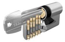Cylindrická vložka TYP TE-5 40/40 nikel